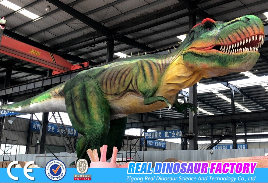 about the material of animatronic dinosaur,